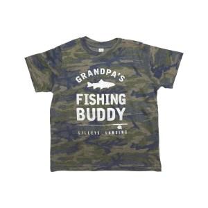 Grandpa's Fishing Buddy – Camo (Child)
