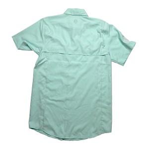 Embroidered Fishing Shirt – Beach Glass