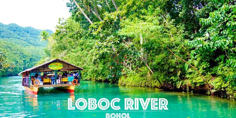 薄荷島美食 Loboc River竹筏餐廳 仰賴觀光的商業叢林