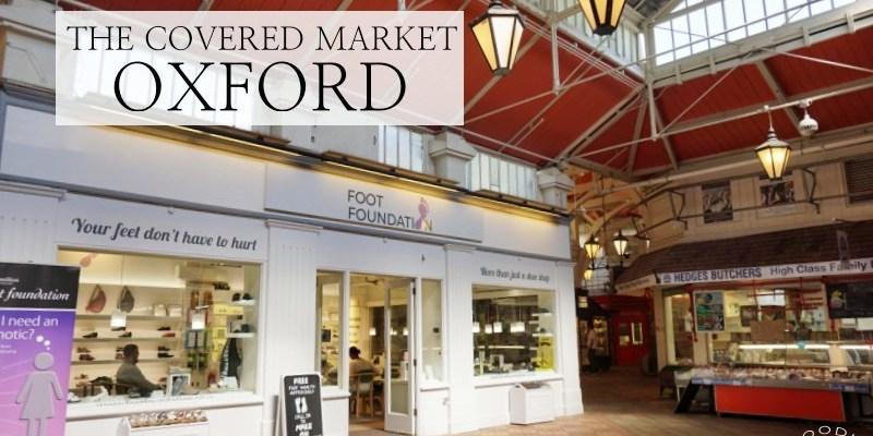 牛津美食景點 Covered market好喝咖啡、奶昔、充滿歷史味的傳統市場