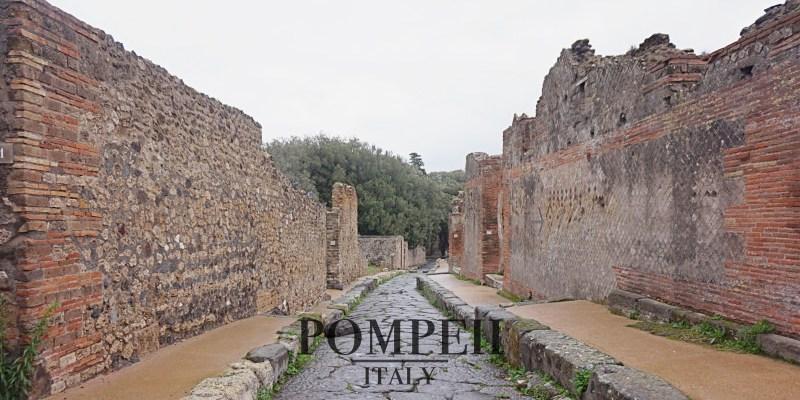 【2021龐貝Pompeii自由行全攻略】交通、門票、住宿、行程規劃。維蘇威火山那消失的城市