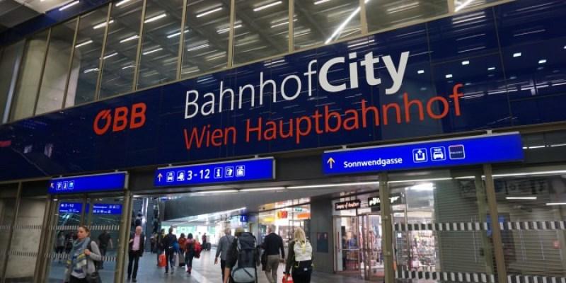 奧地利火車OBB懶人包|火車站治安、注意事項、實際搭乘心得、買票訂位經驗總整理