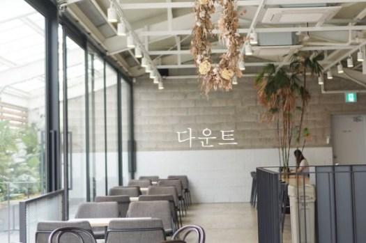 釜山西面咖啡廳|超美植栽咖啡館DAUNT,清新兩層樓空間隱身在西面咖啡街。