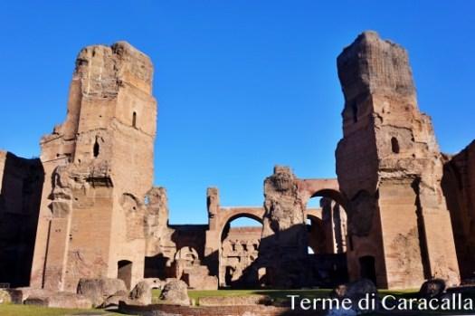 【羅馬景點】卡拉卡拉浴場Terme di Caracalla門票、交通、開放時間,發揮想像力吧!
