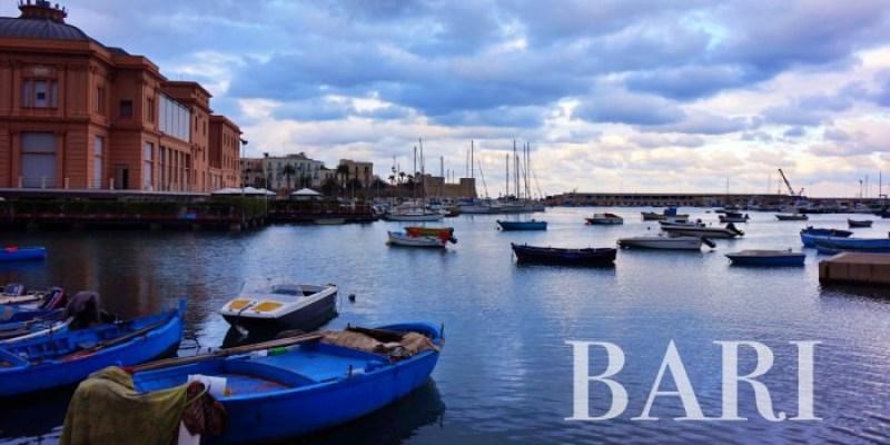 【義大利巴里Bari自由行攻略】住宿交通景點行程懶人包,去蘑菇村、馬泰拉都要經過它。