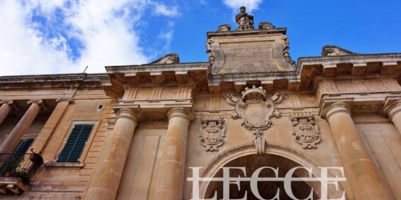 【義大利萊切Lecce自由行全攻略】景點行程、交通、住宿推薦懶人包,南方的佛羅倫斯