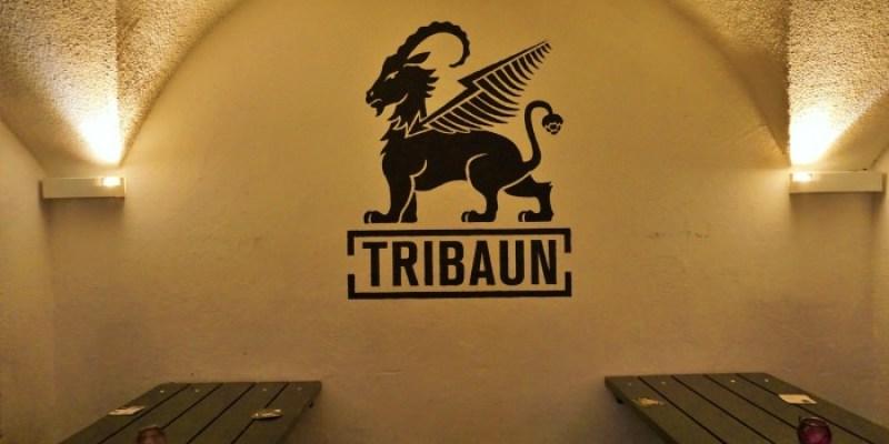 【因斯布魯克酒吧】TRIBAUN地下酒窖精釀啤酒酒館,超親切服務生