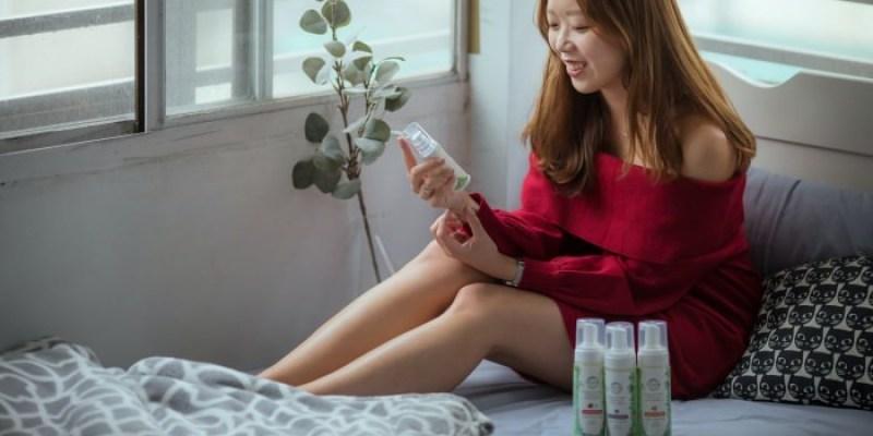 台灣品牌 HH草本新淨界私密保養:玫瑰潔淨慕斯、美白緊緻凝露