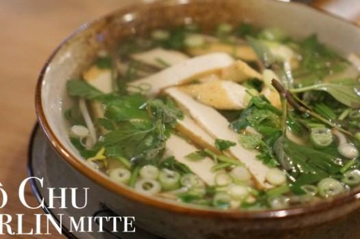 【柏林美食】Cô Chu越南餐廳,自然博物館旁好吃河粉