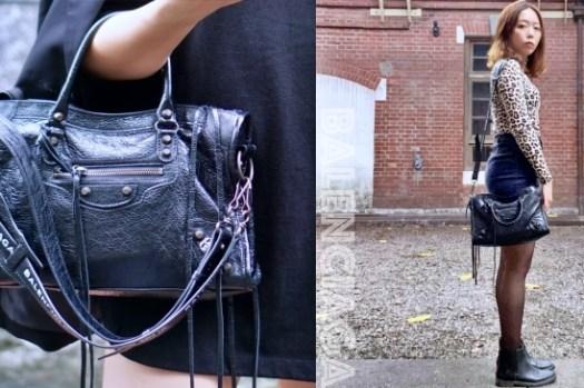 Balenciaga巴黎世家|機車包City尺寸、國外精品網站價格比較,容量大又超輕!