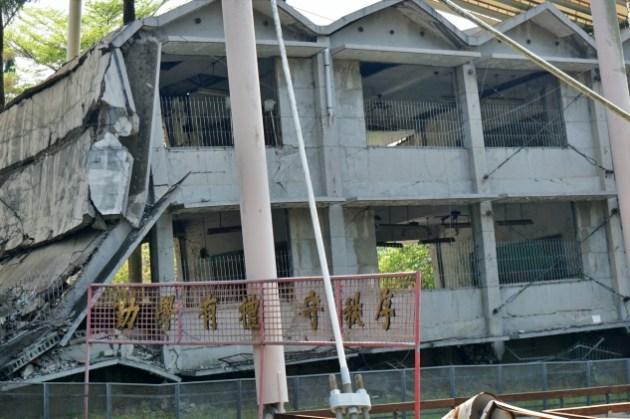 台中霧峰景點|921地震教育園區門票、參觀,光復國中與車籠埔斷層