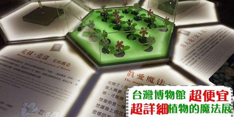 台北│比報紙還便宜的展覽 植物的魔法 小朋友愛死但我真的是生物呆瓜