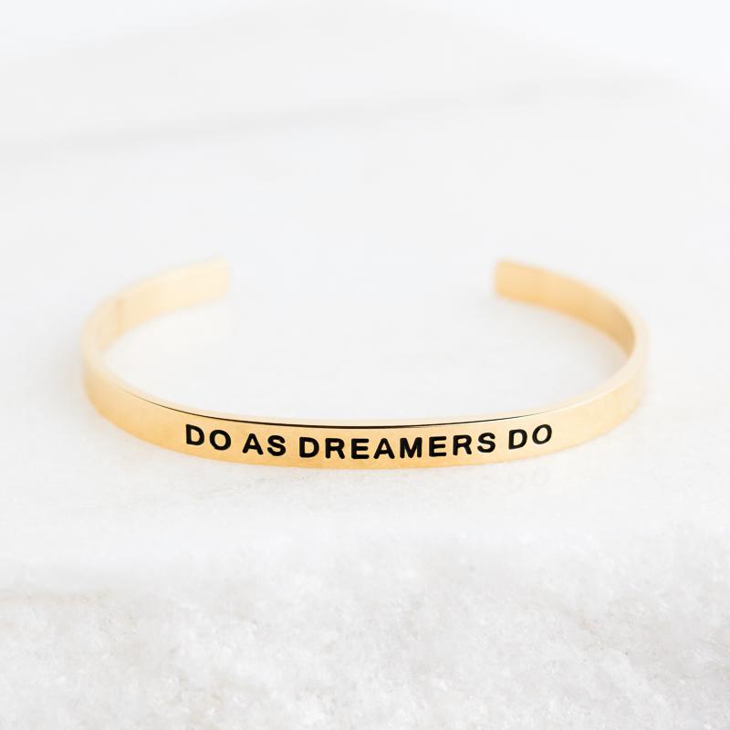 Do As Dreamers Do Inspirational Jewelry Lillian Co