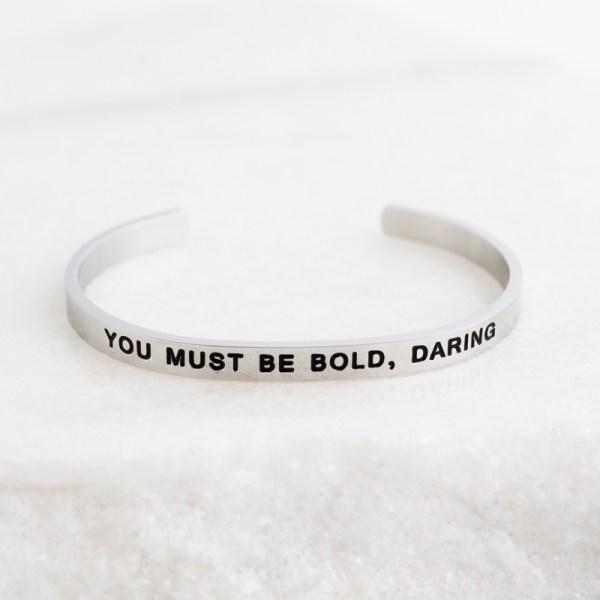 Inspirational Jewelry Bracelet Silver