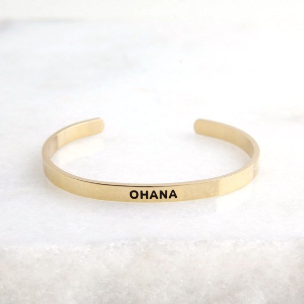 Lilo and Stitch inspired accessory, Ohana means family