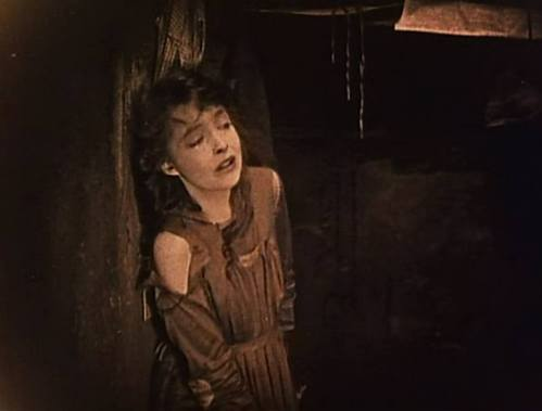 Lillian Gish in Broken Blossoms - The Closet Scene