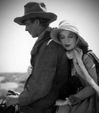 Lars Hanson (Lige Hightower) and Lillian Gish (Letty Mason) - The Wind