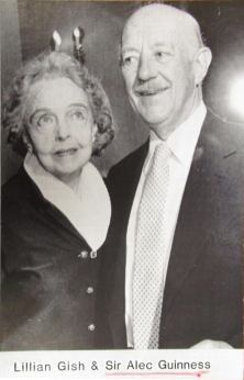 Lillian Gish and Sir Alec Guiness - AP Wire 1970s
