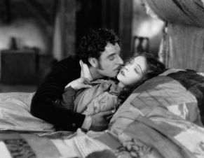 John Gilbert and Lillian Gish (Rodolphe and Mimi) The last scene of La Boheme