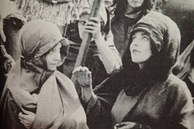 The Movies Mr. Griffith and Me (03 1969) - Lillian as The Little Mother in D.W. Griffith's Judith of Bethulia 1913 — with Lillian Gish.