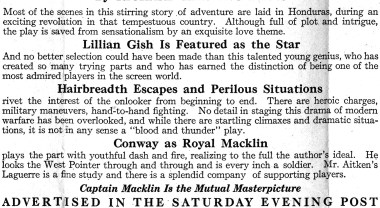 captain macklin (mutual, 1915). herald detail 3