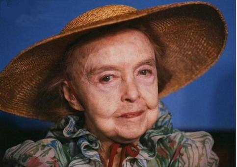 lillian gish - cannes film festival in france, may 1987 c