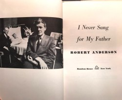 lillian gish hal holbrook i never sang for my father by r. anderson w playbill 3