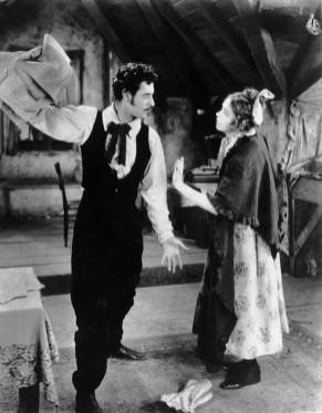 LA BOHEME, John Gilbert, Lillian Gish, 1926 the dispute over the play
