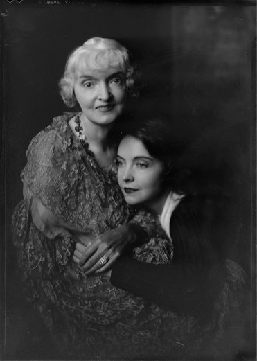 Nell Dorr (1893-1988); [Portrait of Lillian Gish and Mother]; nitrate negative; Amon Carter Museum of American Art; Fort Worth TX; P1990.47.3496