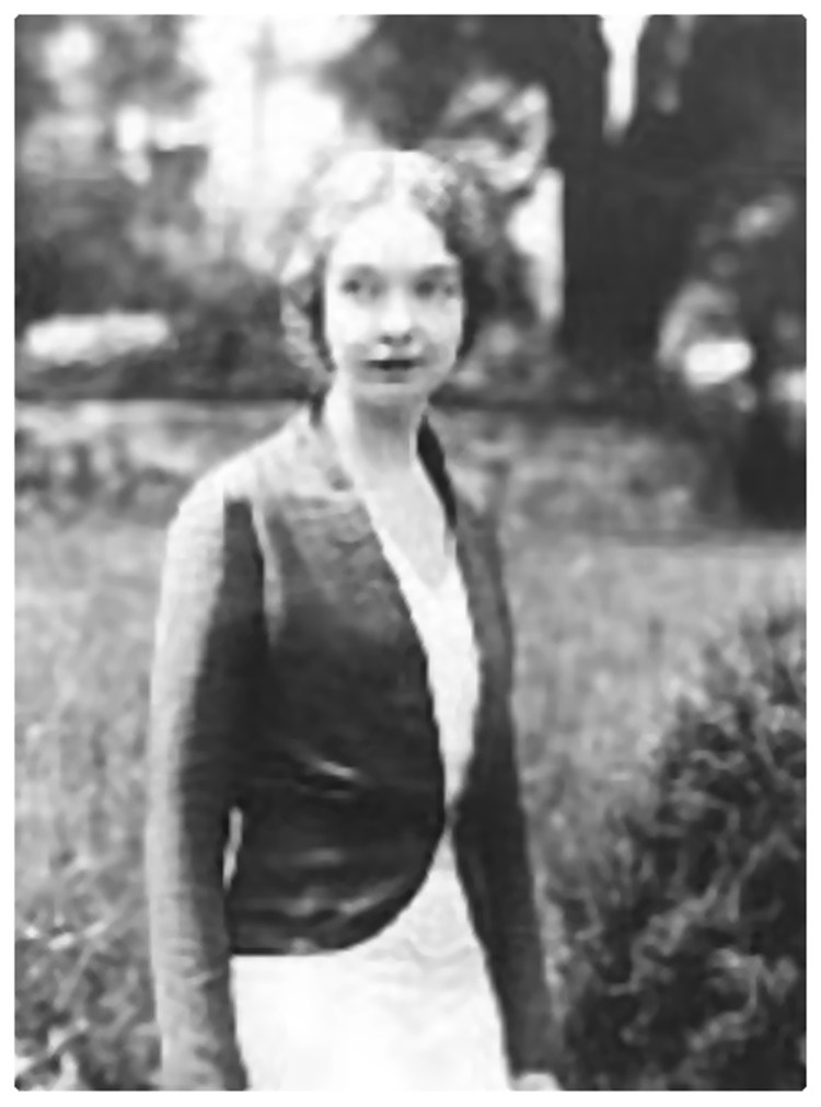 Lillian Gish at Bad Nauheim Germany 1931