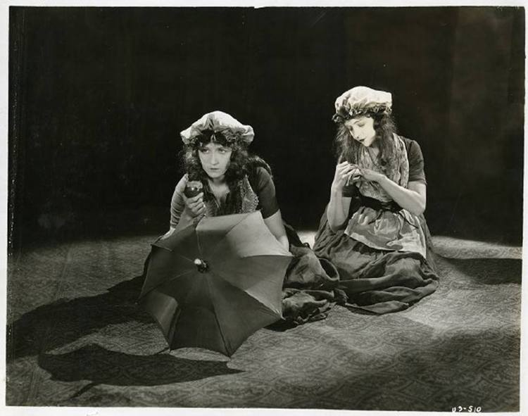 Lillian Gish and Dorothy Gish (Promo for Orphans of The Storm)