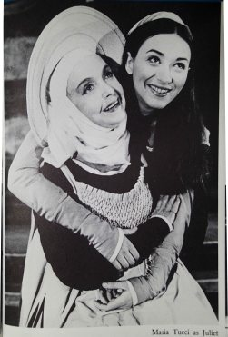 Juliet (Maria Tucci) and The Nurse (Lillian Gish) in Romeo and Juliet - 1965