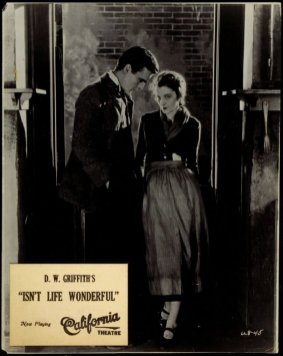 Carol Dempster and Neil Hamilton in D.W. Griffith's Isn't Life Wonderful