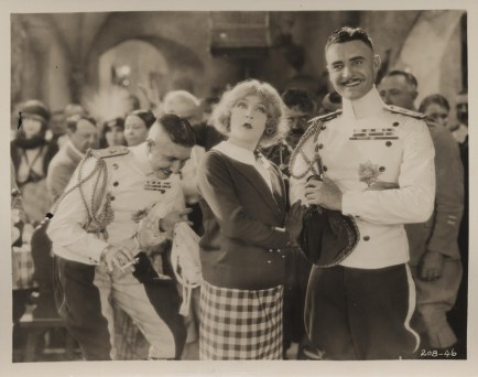John Gilbert, Mae Murray and Roy D'Arcy in The Merry Widow