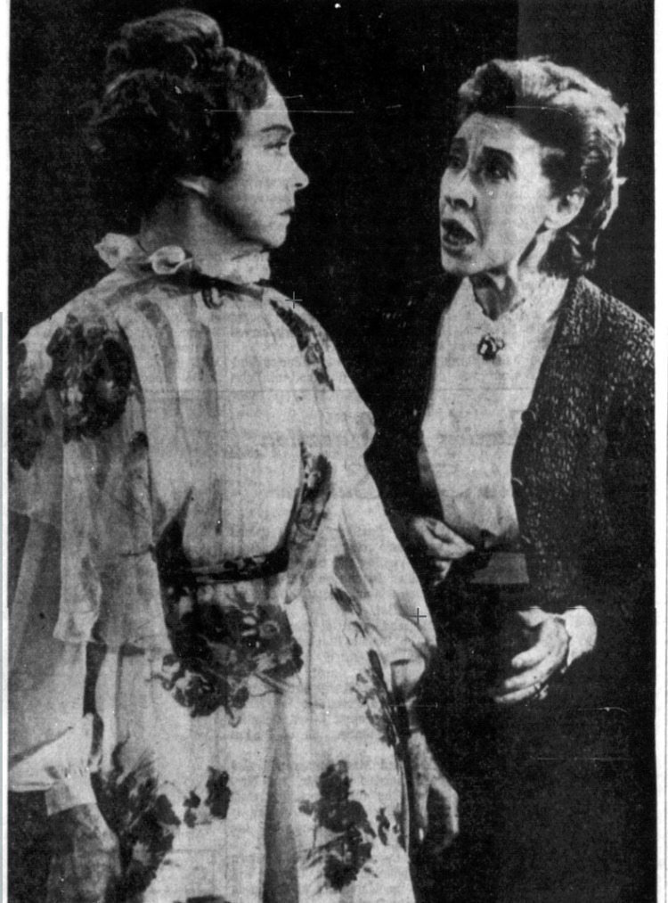 LILLIAN GISH and Carmen Mathews - The Grass Harp