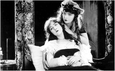 "Dorothy and Lillian Gish in ""Orphans of the Storm"" (1921)"