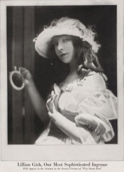 Lillian Gish Tease Way Down East - Vanity Fair June 1920