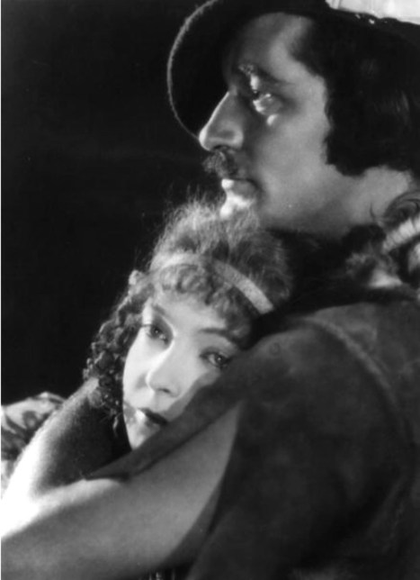 Norman Kerry and Lillian Gish - promotional - Annie Laurie