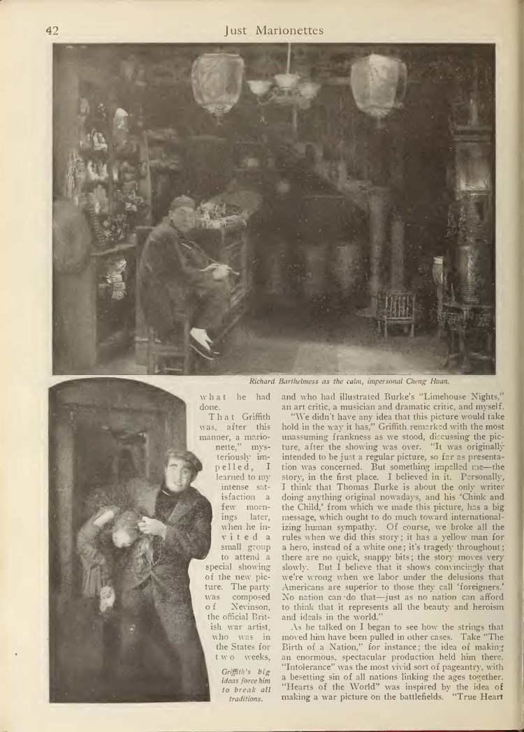 Just Marionettes 2 - Picture-Play Magazine (Sep 1919)