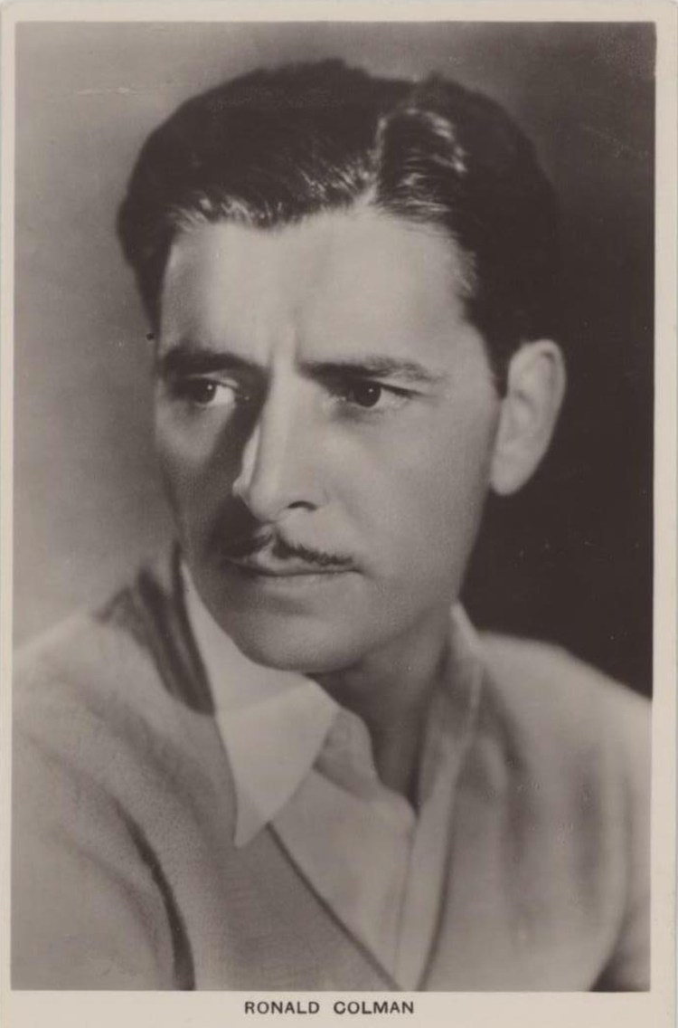Ronald Colman Picturegoer 1930