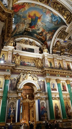 St. Isaac Cathedral interior design