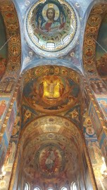Mosaic Paintings @ Savior on the Spilled Blood Cathedral