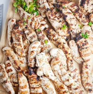 Weekly Bulk Apple Cider Dijon Grilled Chicken