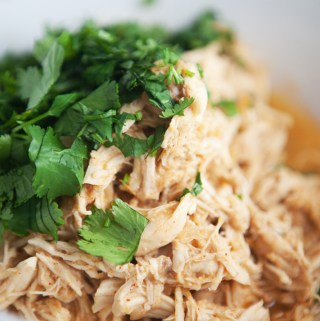 Instant Pot Smokey Honey Cilantro Chicken in 12 minutes