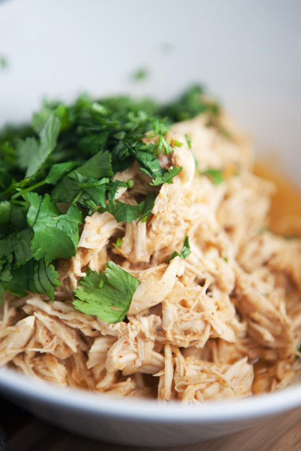 Instant Pot Honey Cilantro Chicken www.lillieeatsandtells.com