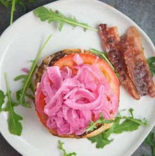 Quick Pickled onions www.lillieeatsandtells.com