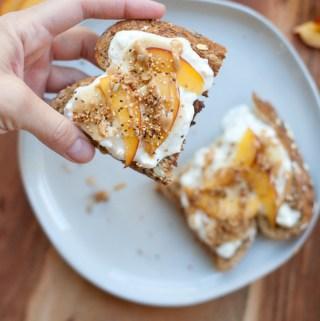 Cottage Cheese Parfait Toast