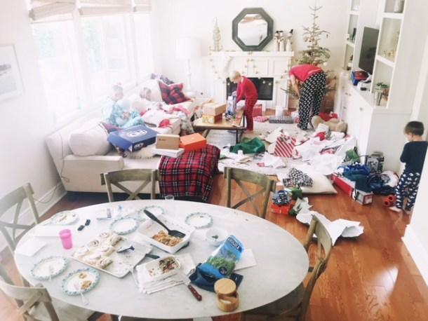 christmas mess