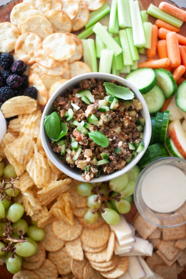 Try this versatile lentil dish as a dip or salad. www.lillieeatsandtells.com