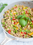 This Thai skillet is so delicious. www.lillieeatsandtells.com